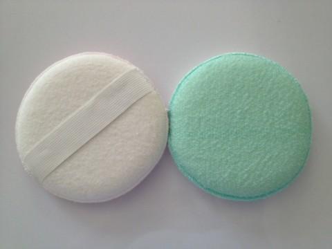 round dual texture body scrubber