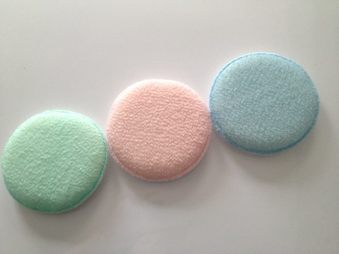 round exfoliating pads
